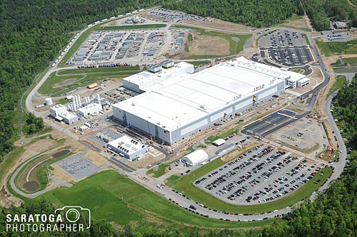 Aerial View Of Global Foundries In Saratoga